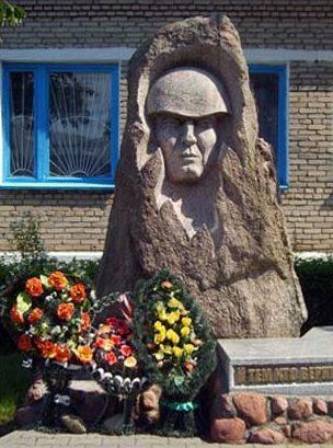 д. Новый Свержень Столбцовского р-на. Памятник погибшим землякам
