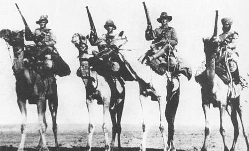 Кавалеристы Имперского верблюжьего корпуса
