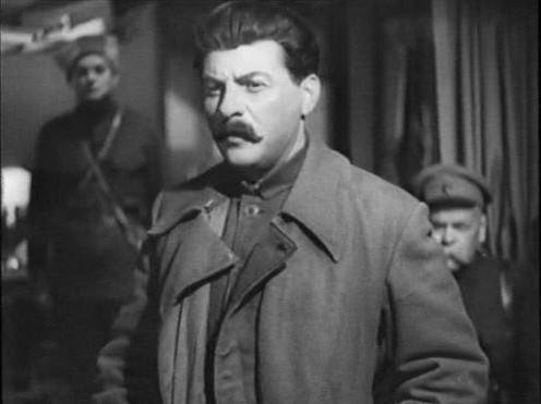 Геловани в фильме «Ленин в 1918 году»