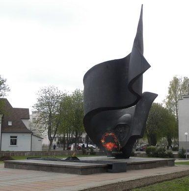 г. Барановичи. Памятник воинам и партизанам