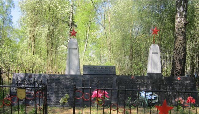 д. Вешевка Березинского р-на. Братская могила