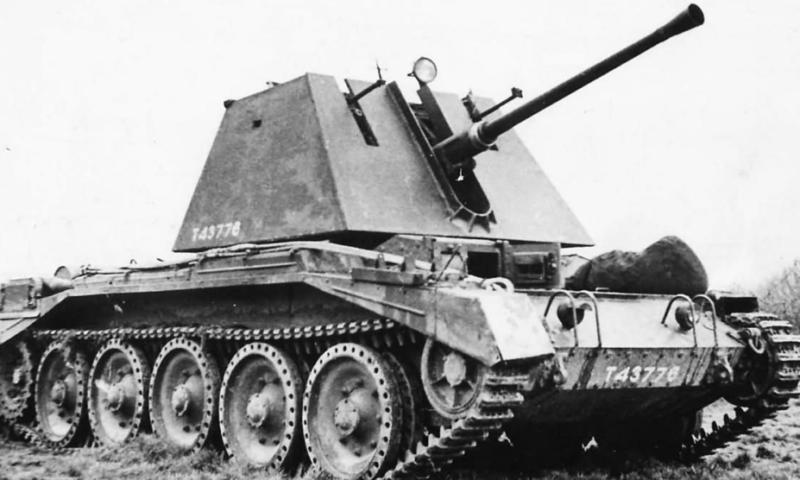 ЗСУ Crusader III AA Mk-I