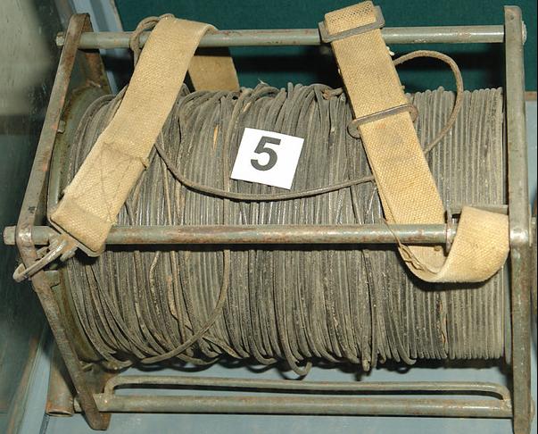 Телефонная катушка ТК-2 с полевым кабелем