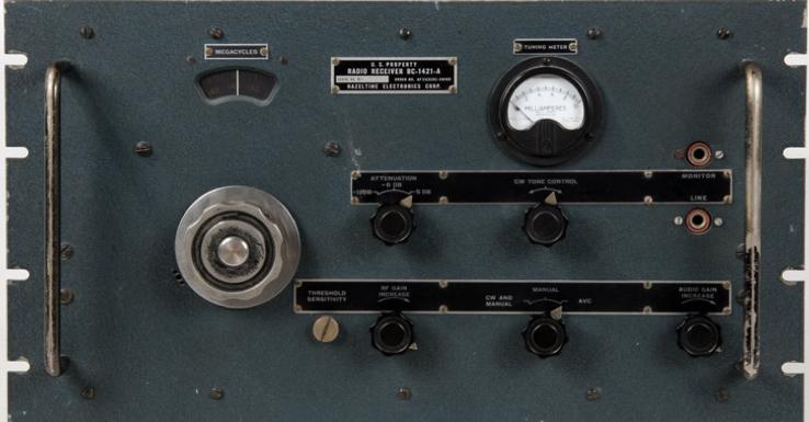 Авиационный приемник BC-639 (SCR-644)