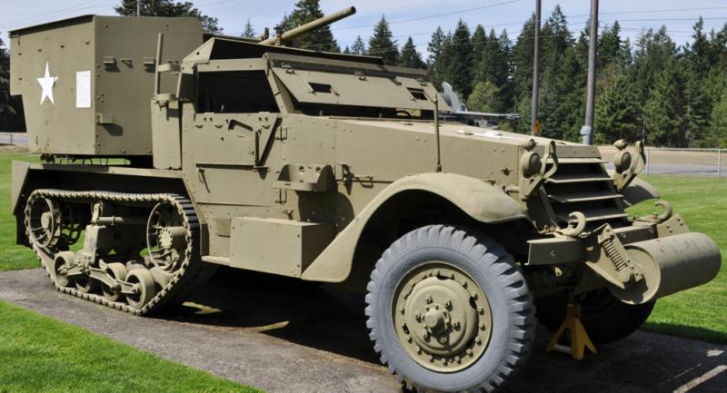 ЗСУ Multiple Gun Motor Carriage М-15А1