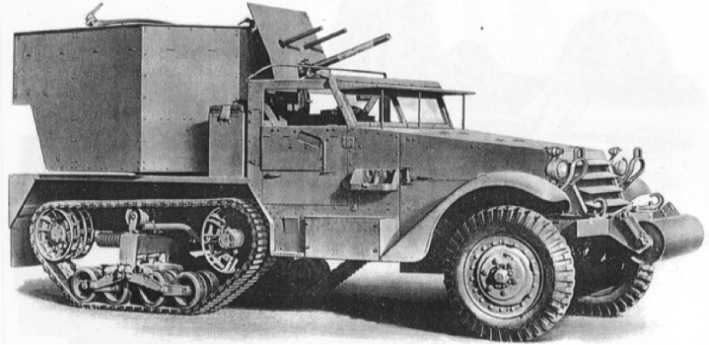 ЗСУ Multiple Gun Motor Carriage M-15