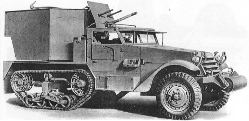 ЗСУ Multiple Gun Motor Carriage M-15