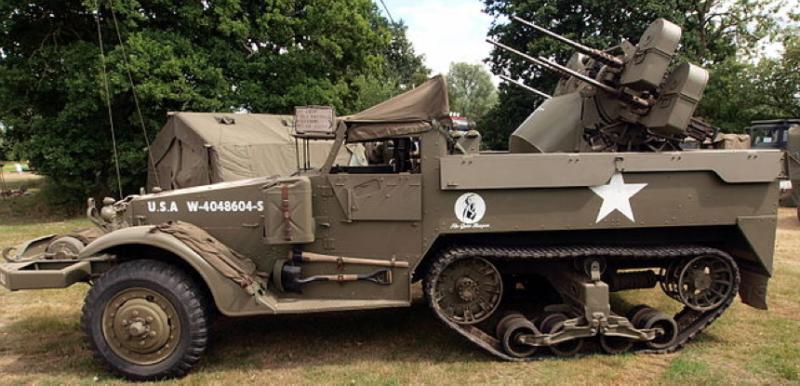 ЗСУ Multiple Gun Motor Carriage M-16