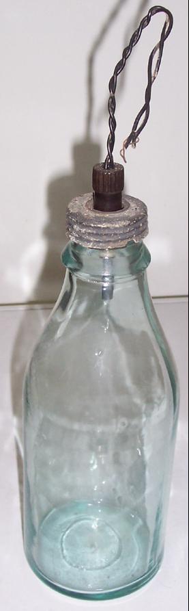 Подледная бутылочная активная мина Flaschen-Eismine