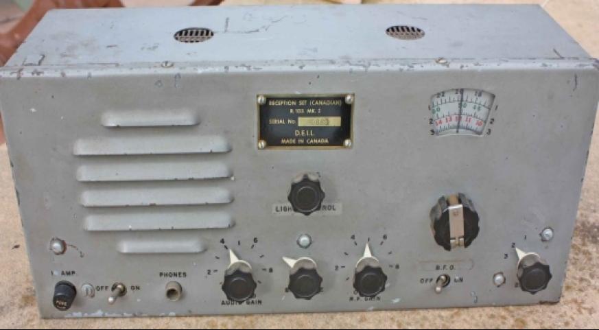 Мобильный приемник R-103 Mk-I