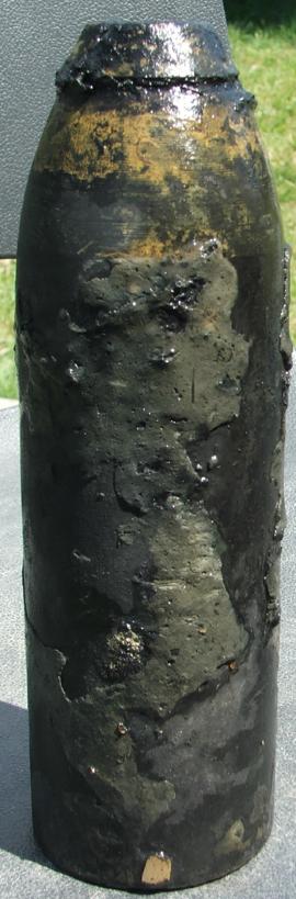 Мина с 75-мм снаряда и взрывателя «ZZ-35»