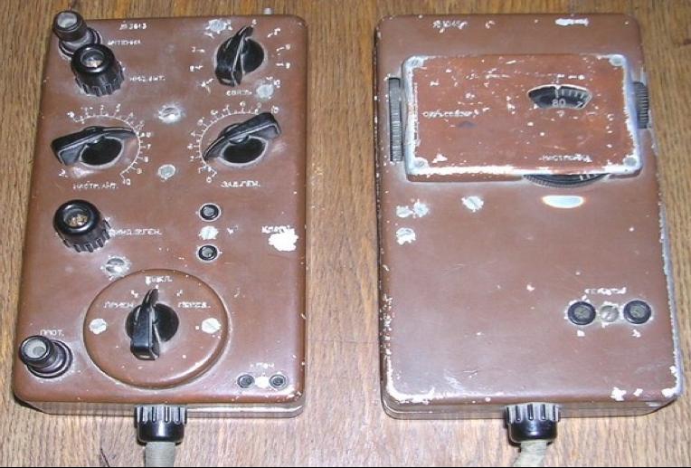 Приемник и передатчик радиостанции Белка-5