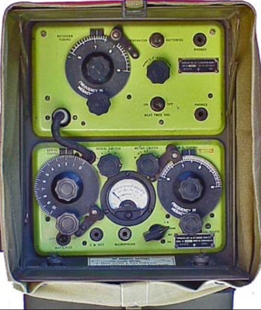 Ранцевая радиостанция Wireless Set № 48 Mk-I