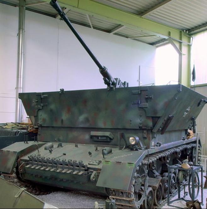 ЗСУ 3,7-cm FlaK auf Sfl PzKpfw IV