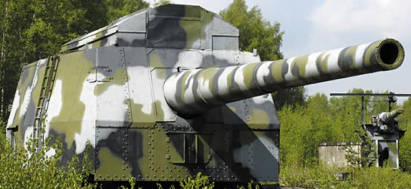 406-мм опытная полигонная установка МП-10 с пушкой Б-37