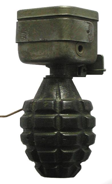 Импровизированная противопехотная мина с нажимным взрывателем «М-1»