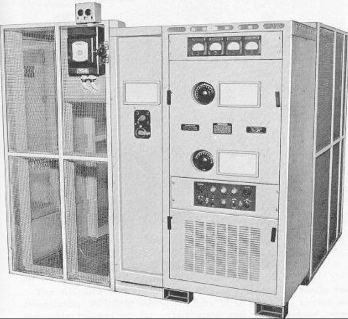 Корабельный передатчик Cdn Marconi PV-500L