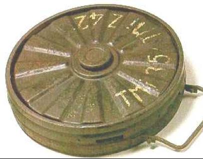 Противотанковая мина Tellermine 35 Stahl