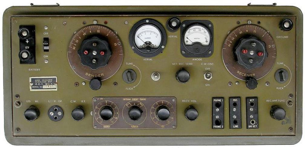 Радиостанция ZC-1 Mk-I