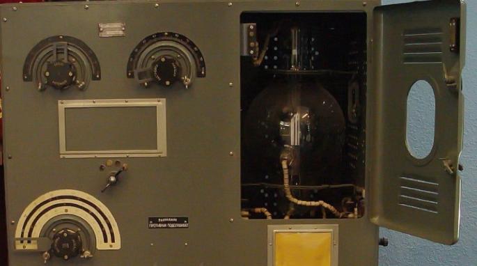 Фрагменты радиостанция РАФ-КВ-3