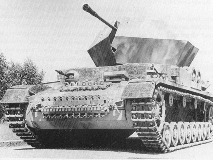 ЗСУ Flakpanzer IV «Ostwind» (3,7 cm Flak-43 auf Sfl PzKpfw IV)