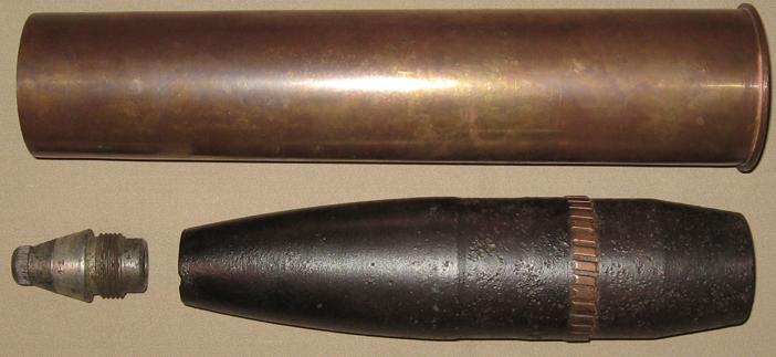 Осколочно-фугасный выстрел 76,2-мм