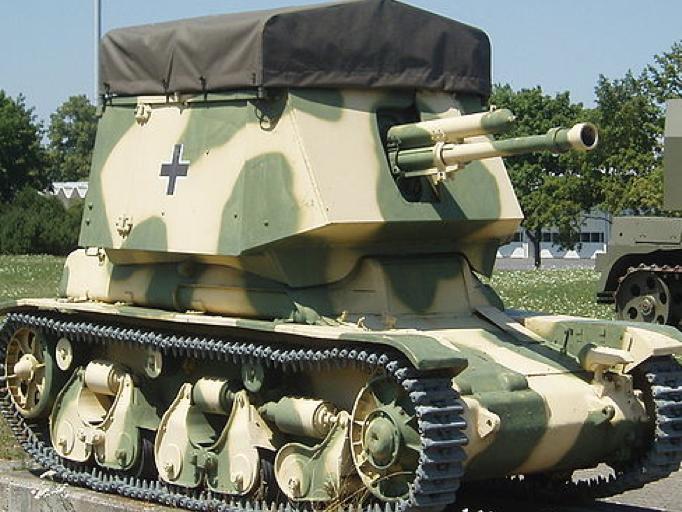 Противотанковая САУ 4,7cm PaK(t) auf Panzerkampfwagen 35R(f)