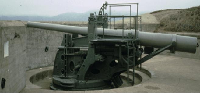 Береговое орудие 6-inch M1900/1908