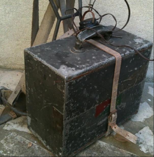 Переносная радиостанция. ER 17 Type 1933