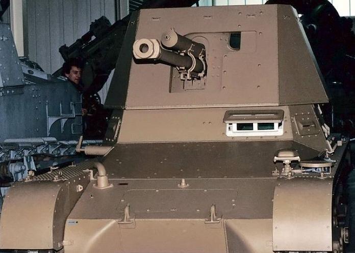 Противотанковая САУ Panzerjäger I