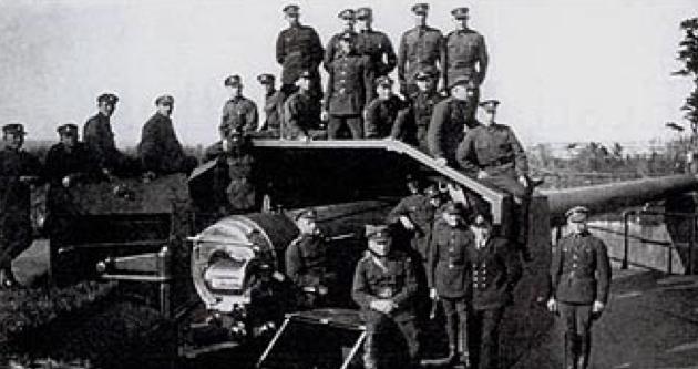 Береговое орудие. 234/50-мм