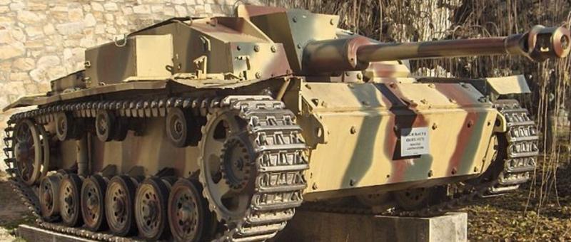 САУ Gepanzerte Selbstfahrlafette für Sturmgeschütz 7,5 cm Kanone (StuG-III)