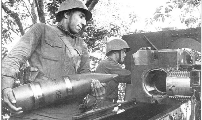 Осколочно-фугасный снаряд к 152-мм пушке