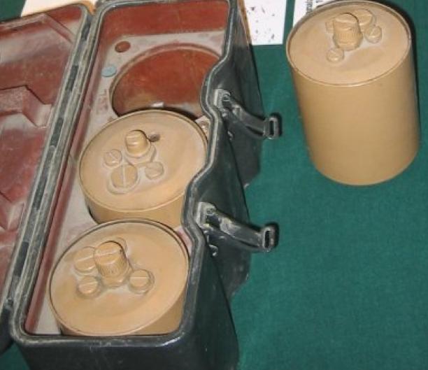 Контейнер с минами Pommiansa m/41-S