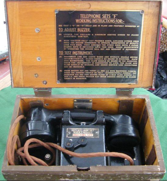 Полевой телефон Type F Mk-I