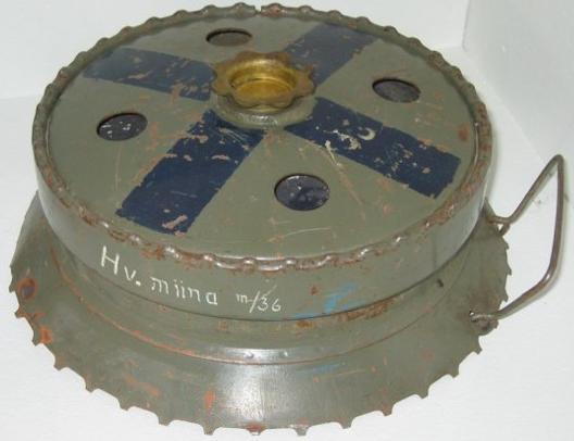 Учебная противотанковая мина Panssarimiina m/36