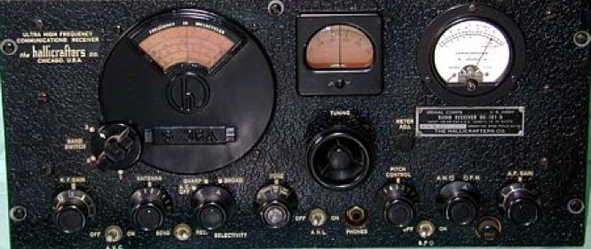 Слежечный приемник BC-787-A (SCR 607)