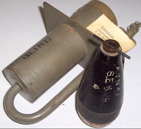 Противопехотная мина Mine Bondissante Mle 1939