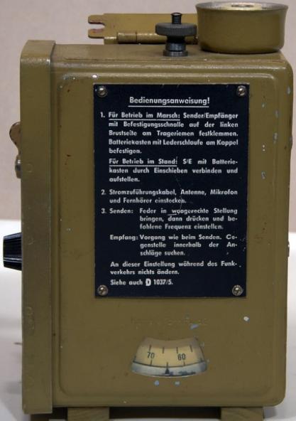 Радиостанция Kl.Fu.Spr.d. (Dorette)