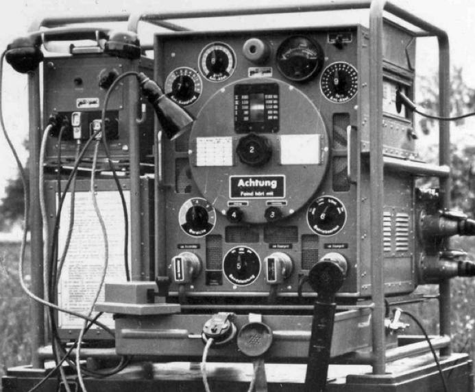 Стойка передатчика радиостанция SE-218 м (KL-43)