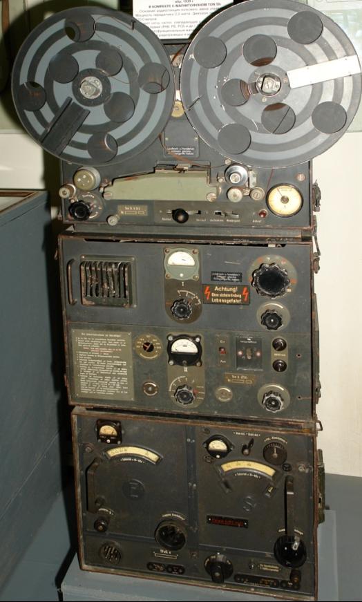 Радиостанция Torn. Fu. k (TFuG.k) с магнитофоном