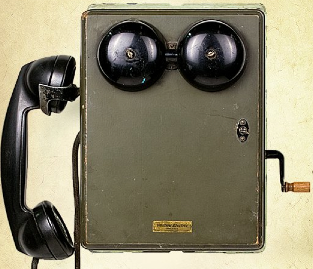 Настенный телефон