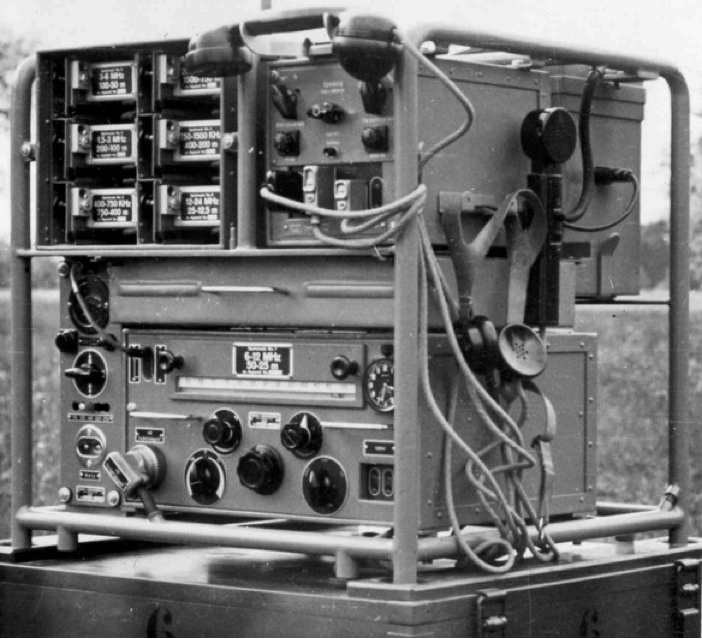 Стойка приемника радиостанция SE-218 м (KL-43)