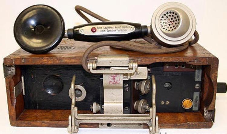 Полевой телефон «Feldfernsprecher 26» (FF-26)