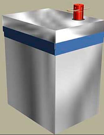 Рисунок противотанковой/противопехотной мины Ni-03