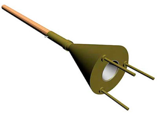 Рисунок противотанковой ударной мины Ni-05