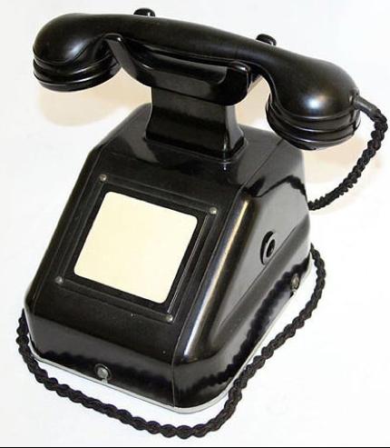 Настольный телефонный аппарат Tischfernsprecher 38-ОВ