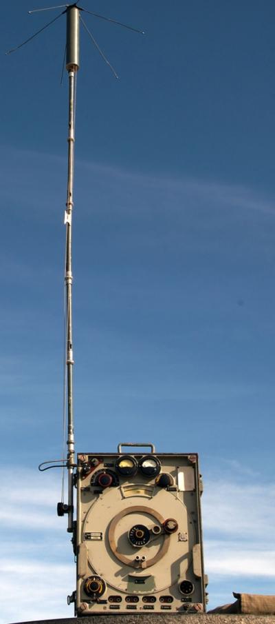 Радиостанция SE-499 A1 с антенной