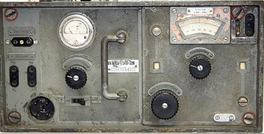 Приемник Ukw.E.c1. из комплекта танковой радиостанции Fu-6 SE 20 U (Fu-6)