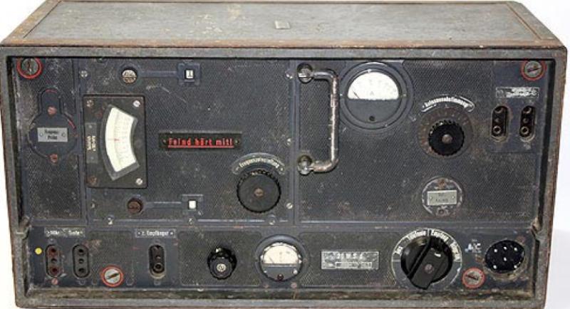Комплект танковой радиостанции Fu 7 SE 20 U (Fu 7). Передатчик 20W.S.d.